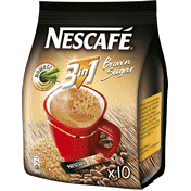 Nescafé 3in1 barna cukrral