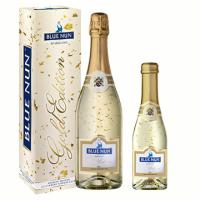 Blue Nun édes arany pezsgő
